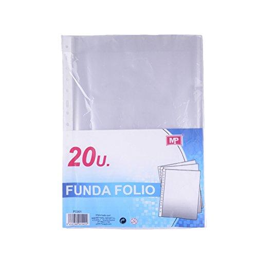 MP PC001 - Pack de 20 fundas folio