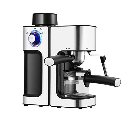 Taurusb Espressomaschine, 5Bar 0.24L Espressomaschine Cappuccino-Maschine Dampf-Milchaufschäumer und Karaffe Startseite Kaffeemaschine Haushalt Auto Espresso