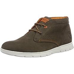 Panama Jack Dimitri, Zapatos de Cordones Oxford para Hombre, Gris (Grey), 45 EU