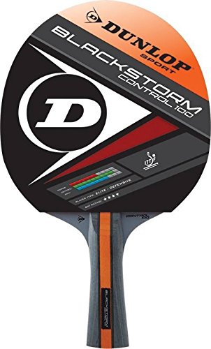 Dunlop Black storm Control Table Tennis Racket for Intermediate Players