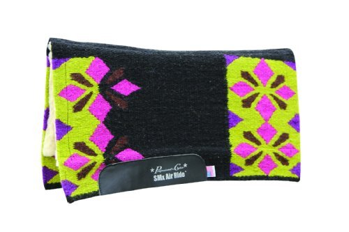 PC Sparkle Comfort-Fit SMx Air Ride Saddle Pad by Professional's Choice -