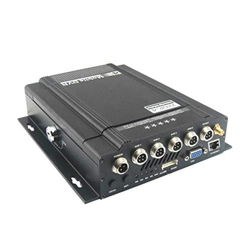 Preisvergleich Produktbild Vinkent X9S 4CH Full 720P HDD & Sicherheit Digital Card Mobile DVR Fahrzeugüberwachung und Management-Plattform Remote Monitoring System (schwarz)