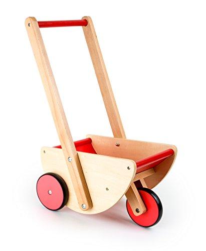 Small foot company carrozzina dal design particolare a tre ruote, utilizzabile anche come primi passi, dimensioni ca. 35 x 25 x 52 cm