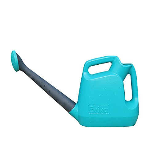 Pot d'arrosage de bouche en plastique épais de résine, colonne d'eau, commutateur de mode de double de gicleur, matériel de protection de l'environnement pp, bleu