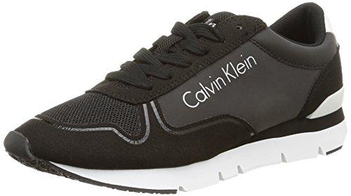 Calvin Klein Jeans Tori Reflex, Baskets Basses Femme Noir (Bbk)