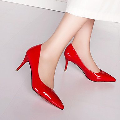 Moda Donna Sandali Sexy donna tacchi Primavera / Estate / Autunno / Inverno Comfort / Punta / punta chiusa Casual Stiletto Heel Altri Black