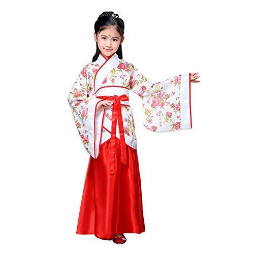 Weiblich Kostüm Nationalen Chinesischen - Xinvivion Chinesischer Stil Hanfu Kleid - Uralt Traditionell Kleidung Elegant Retro Tang Anzug Performance Kostüm