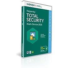 Kaspersky Lab Total Security – Multi-Device 2016 Base license 3usuario(s) 1año(s) Inglés - Seguridad y antivirus (3, 1 año(s), Base license, Soporte físico)