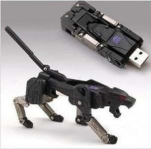 cle usb 32 GO fun originale design fantaisie insolite - transformers noir