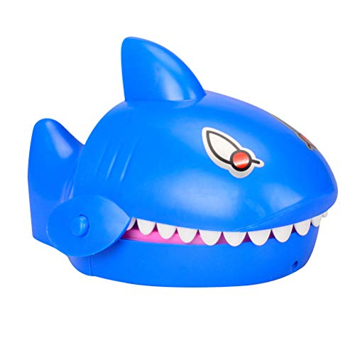 Amosfun Hai Mund Figur Finger Beißen Spielzeug Zahnarzt Spiel Kinder Geburtstag Geschenk (Spiel Hai Spiele)