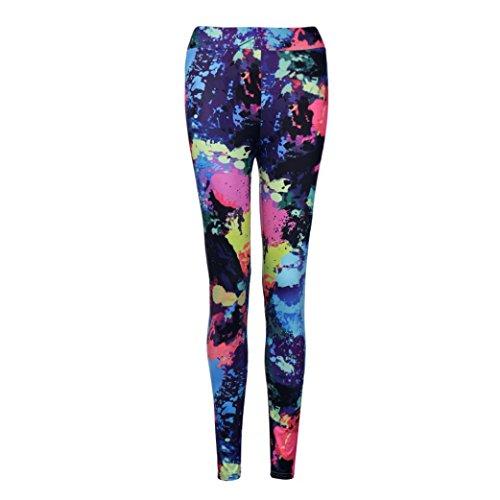 Femmes Sportswear,Tonwalk Yoga/Workout/Gym/Running Leggings Pantalons athlétiques Rouge