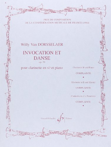 Invocation et Danse par Dorsselaer Willy Van