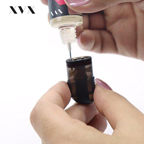 XVX NANO E-Zigarette Wiederauffüllbare E-Zigarette Starterkit Pro Tank Abnehmbare Abtropfspitze Wähle Deinen Lifestyle Neu Für 2016 Digitaler Rauch Nikotinfrei Tabakfrei