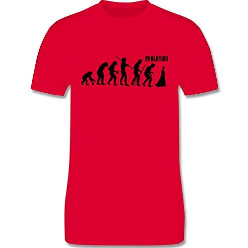 Evolution - Braut Evolution - Herren Premium T-Shirt Rot