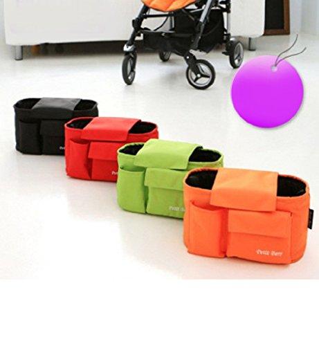 Sumolux Baby Wickeltasche Kinderwagentasche Umhängetasche mit Tragegurt Schwarz