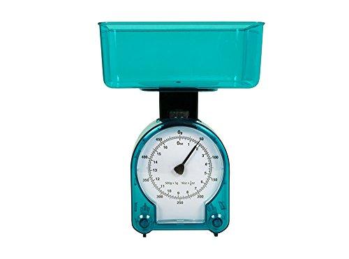 Mechanische Küchenwaage | Haushaltwaage | Backwaage bis zu ca. 500 g Belastbar | L: ca. 135 mm / B: ca. 100 mm / H: 180 mm