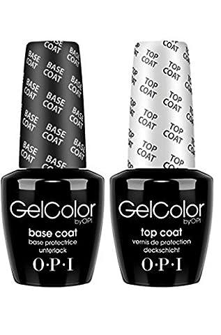 OPI Soak off Gel Base & Top Coat 15ml [Personal Care]