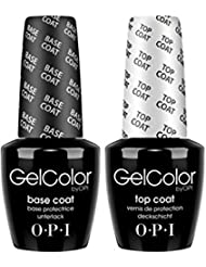 OPI Soak off Gel Base & Top Coat 15ml [Personal Care]