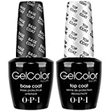 OPI Soak off Gel Base & Top Coat 15ml
