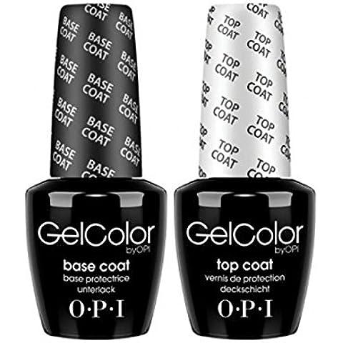 OPI Soak off Gel Base & Top Coat 15ml
