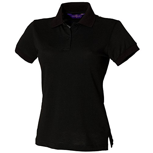 Henbury - Polo - Femme Noir - Noir