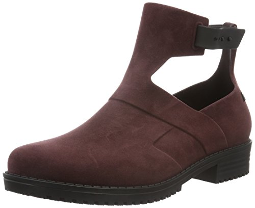 Melissa MELISSA ANTARES II AD, Stivali donna, Rosso (Rot (RED/BLACK 50734)), 36