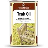 Borma Wachs - Aceite Teka para la protección de la madera color incoloro - 1 litro -