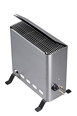 Tepro Gewächshausheizer mit Thermostat Gasheizgerät, 4,2 kW, Silber von Tepro auf Du und dein Garten