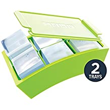 ZOKU Jumbo Ice Trays–12Formen Eis Würfel Maxi Silikon Hohe Qualität