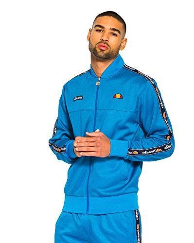 Ellesse Herren Forno Vertical Logo Track Top Jacke, Blau imperial blue marl