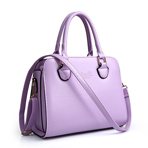 HerHe ,  Damen Tasche Violett