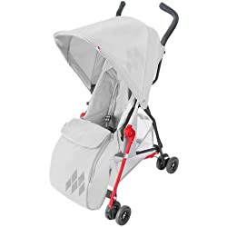 Maclaren Mark II - Saco universal, color plata