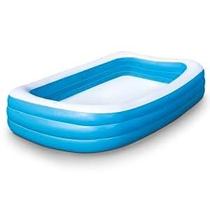 Piscina gonfiabile molto spaziosa per adulti e bambini for Piscine x bambini
