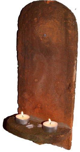 Dachziegel Kerzenhalter / Biberschwanz Wand Kerzenhalter / Kerzenhalter aus Keramik