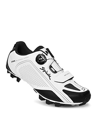 Spiuk Altube MTB - Zapatilla, Unisex Adulto, Blanco Mate, 43