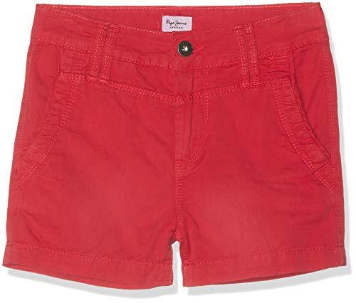 Pepe Jeans Mädchen Balboa Short Badeshorts, Rot (Pepper Red 254), 15-16 Jahre (Herstellergröße: 16)