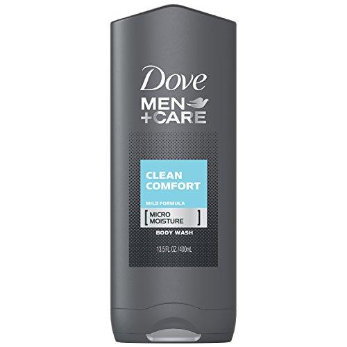 Dove Lotion nettoyante Men+Care Clean Comfort - Pour le corps et le visage - Pour lutter contre la peau sèche - Fraîcheur extra - 400 ml