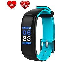DGRTUY - Pulsera de Fitness con rastreador de frecuencia cardíaca, tensiómetro de la Sangre,