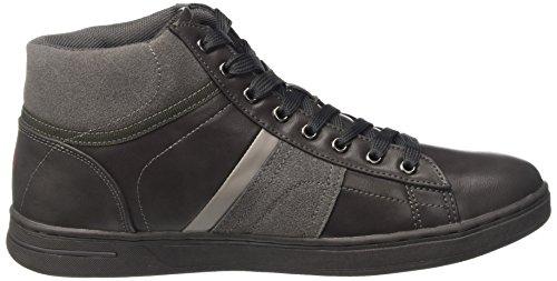 Carrera Herren Play Mid Hohe Sneaker Grigio (Ash)