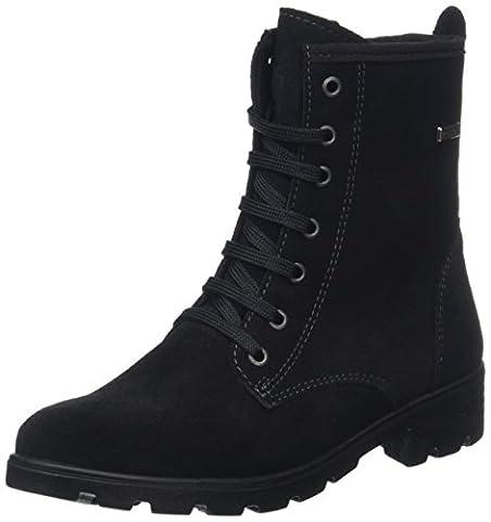 Ricosta Mädchen Disera Kurzschaft Stiefel, Black (Schwarz 092), 32 EU