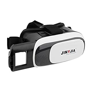 JINYJIA 3D VR Box Mobile Virtual Reality Brille 3D Filme Headset Viewer für 4.0