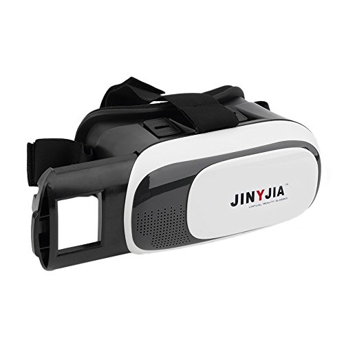 """JINYJIA 3D VR Box Mobile Réalité Virtuelle Lunettes 3D Films Headset Viewer pour 4.0"""" ~ 6.0"""" Smartphones"""