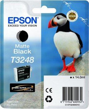 Epson T3248 Cartouche d'encre d'origine Noir Mat