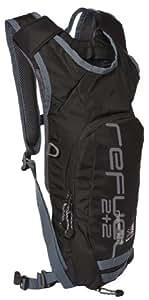 Karrimor Adult Re-Fuel 2 + 2 Backpack - Black/Black/Charcoal