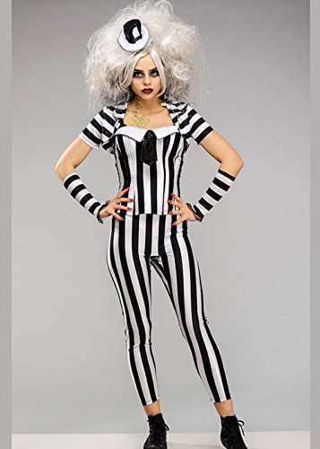 Magic Box Int. Damen Halloween Korsett Beetlejuice Kostüm L (UK 14-16)