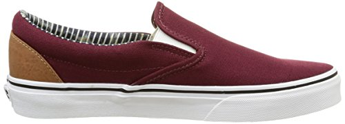 Vans Chaussures - Classic Slip On Rouge (C L/Prt Royale)