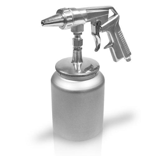 Berlan Druckluft Sandstrahlpistole mit Becher BDLSP400