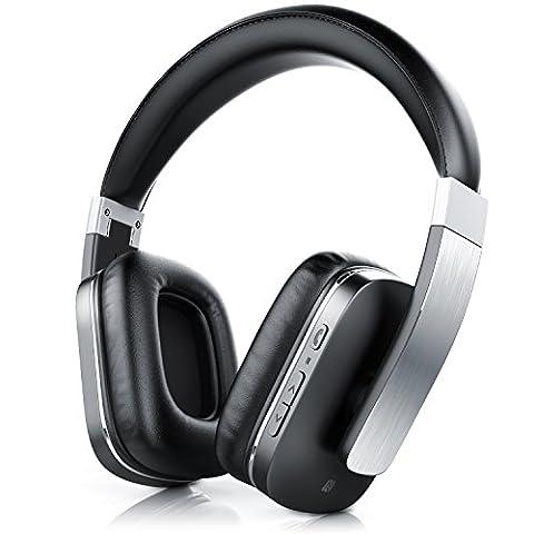 CSL 450 LE Bluetooth Kopfhörer / wireless Headphone / Headset - Limited Edition (Alu gebürstet) - integriertes Mikrofon für Freisprecheinrichtung - Bluetooth V4.0 - bis zu 540 Stunden Standby / 14 Stunden für Musik/Telefonie - Noise Reduction-Funktion -