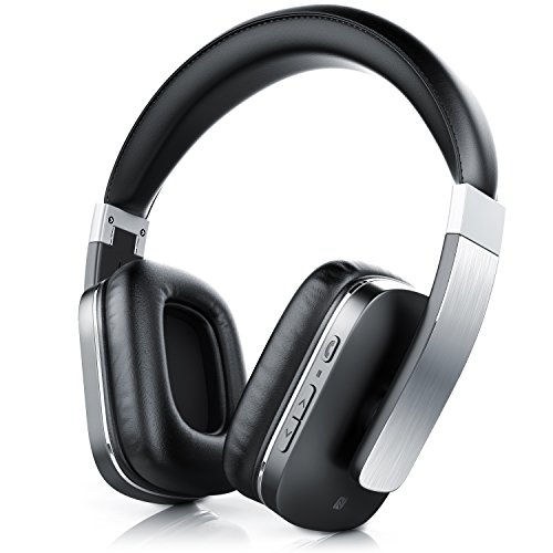 CSL 450 LE Bluetooth Kopfhörer / wireless Headphone / Headset - Limited Edition (Alu gebürstet) - integriertes Mikrofon für Freisprecheinrichtung - Bluetooth V4.0 - bis zu 540 Stunden Standby / 14 Stunden für Musik/Telefonie - Noise Reduction-Funktion - apt-X (Ladekabel Für Toshiba Tablet)
