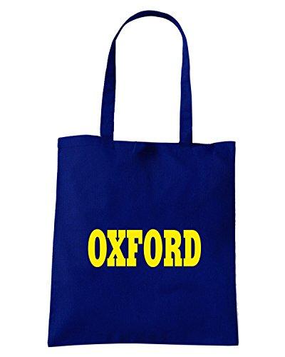 T-Shirtshock - Borsa Shopping WC0710 OXFORD Blu Navy